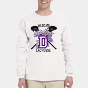 Wildcats LAX -  4930 Fruit of the Loom Adult 5oz. 100% Heavy Cotton HD™ Long-Sleeve T-Shirt