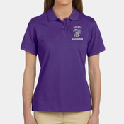 Duluth Lacrosse - M200W Harriton Ladies' 6 oz. Ringspun Cotton Piqué Short-Sleeve Polo